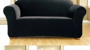 Sure Fit Stretch Corduroy Loveseat Slipcover Free