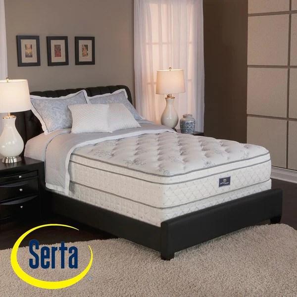 Shop Serta Perfect Sleeper Conviction Euro Top Split Queen