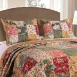 Greenland Home Fashions Antique Chic King Size Pillow Shams Set Of 2 Multi Overstock 6008295
