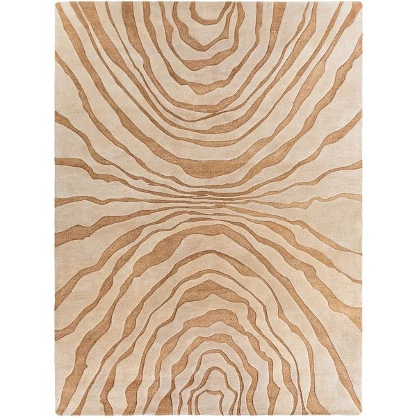 Shop Hand Tufted Contemporary Beige Baltimore New Zealand