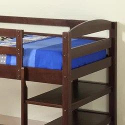 Solid Wood Solid Wood Loft Bed With Desk