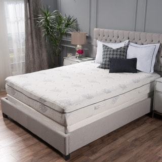 Aloe Gel Memory Foam 11 Inch Queen Size Smooth Top Mattress By Christopher Knight