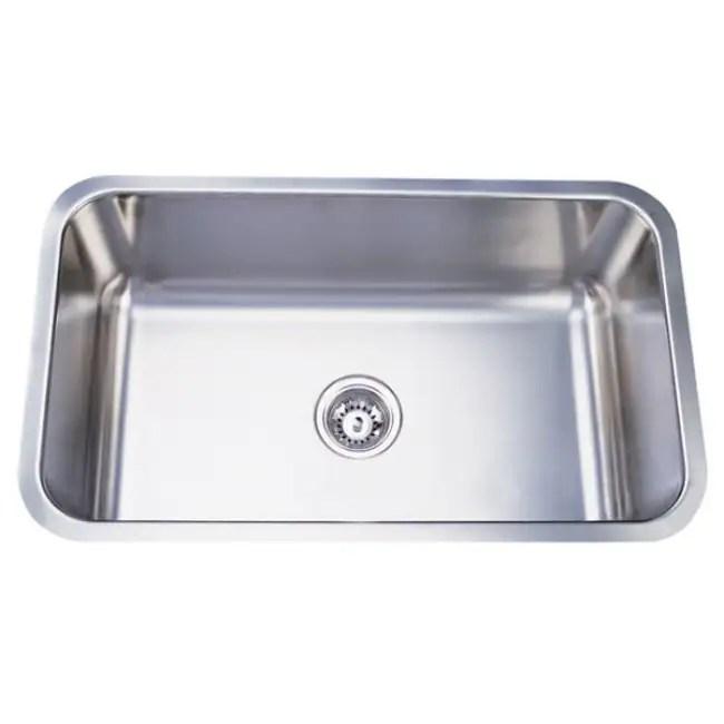 stainless steel 30 inch extra deep kitchen sink