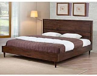 Vilas Platform King Size Mid Century Style Bed