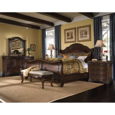 coronado 5 king size leather sleigh bedroom set   28 images   aico     Coronado 5 King Size Leather Sleigh Bedroom Set by Coronado 5 King Size  Leather Sleigh Bedroom