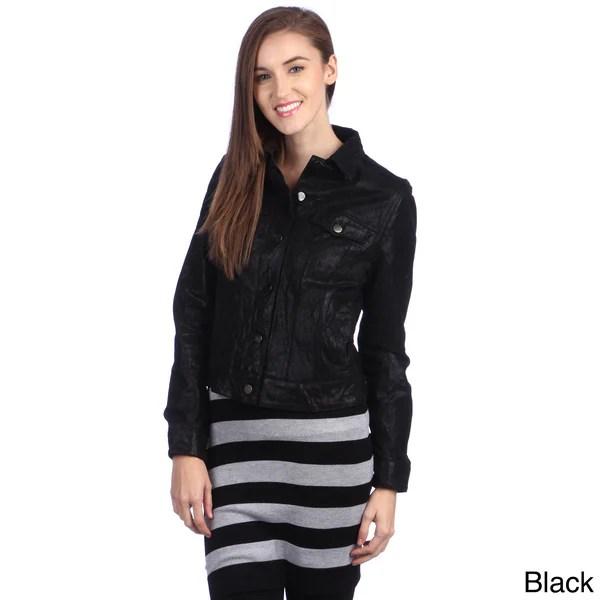 Denim Shirt Jacket Lined Fleece