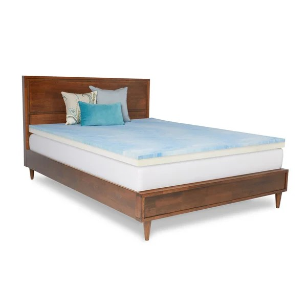Select Luxury Combo 3 Inch Gel Memory Re A Mattress Medium Firm Topper Free Shipping Today 14950311