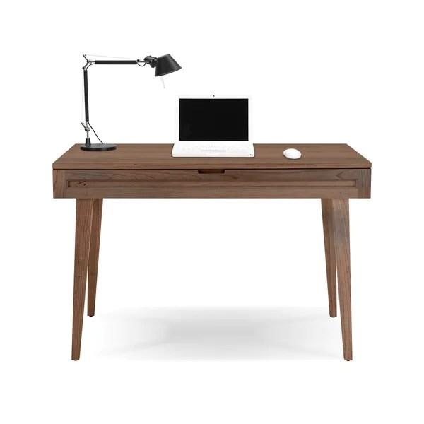 Jesper Office Highland 44 Inch Solid Walnut Desk Free