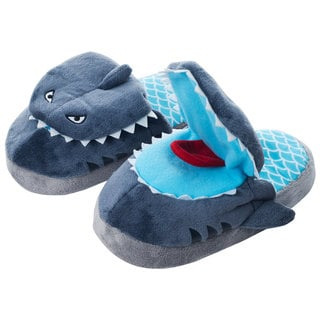 Shop Silly Slippeez Childrens Sneaky Shark Slippers Free Shipping On Orders Over 45