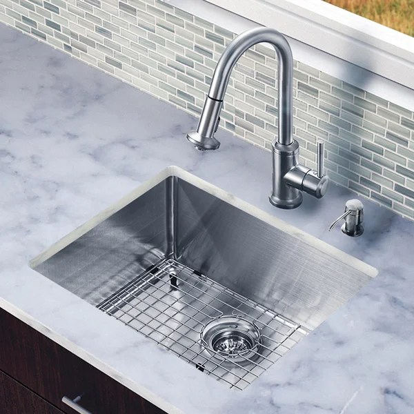 One Inch Undermount Stainless Steel Ada Compliant Kitchen Sink