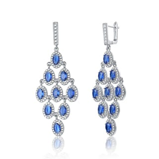 Royal Blue Chandelier Earrings – Chandeliers Design:Chandelier Earrings The Best Deals For Apr 2017. Antique Gold Royal Blue ...,Lighting