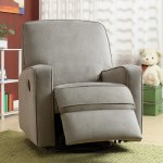 Shop Black Friday Deals On Colton Gray Fabric Modern Nursery Swivel Glider Recliner Chair On Sale Overstock 7942163