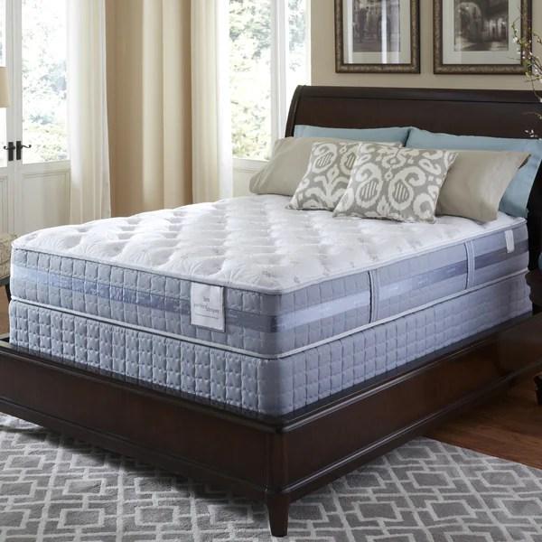 Serta Perfect Sleeper Resolution Plush King Size Mattress And Foundation Set