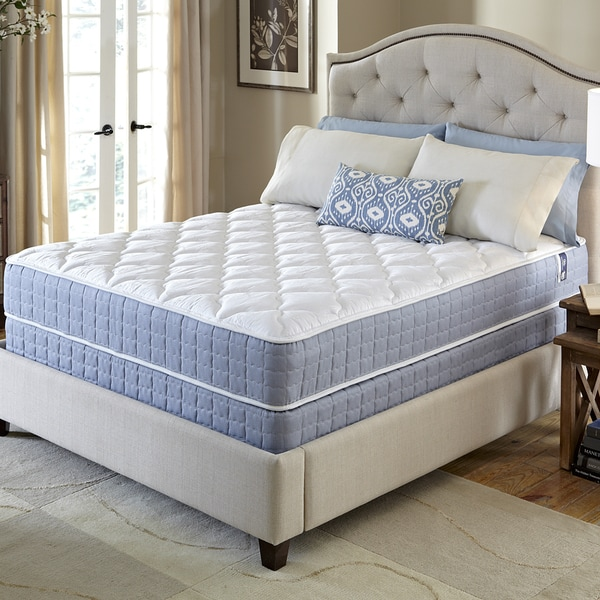 Serta Revival Firm Twin Xl Size Mattress And Foundation Set