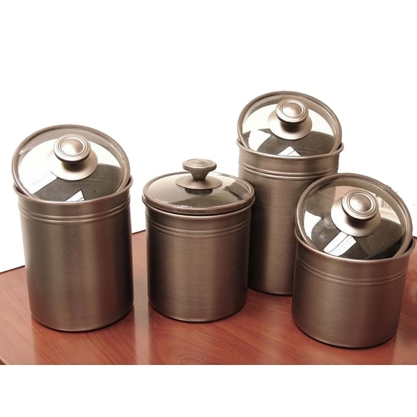 Kitchen Canister Sets Stainless Steel