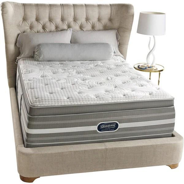 Beautyrest Recharge World Class Rekindle Plush Super Pillow Top King Size Mattress Set