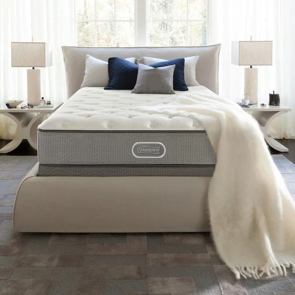 Beautyrest Silver Maddyn Plush California King Size Mattress Set