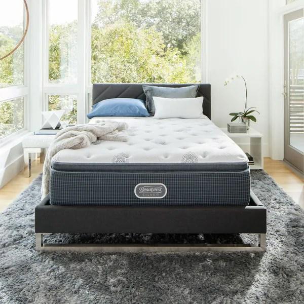Beautyrest Silver Maddyn Luxury Firm Pillow Top King Size Mattress Set