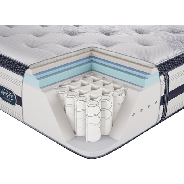 Beautyrest Recharge Lilah Extra Firm Queen Size Mattress Set Free Shipping Today 15416996