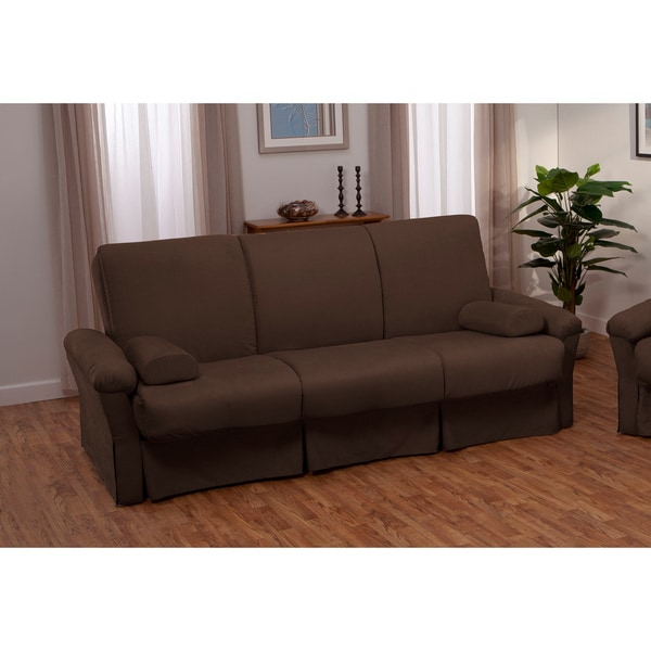 Covered Pillow Top Mattress And Futon Or Chair Sleeper Set