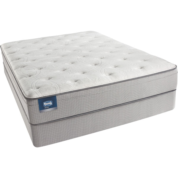 Simmons Beautysleep Kenosha Plush Full Size Mattress Set Free Shipping Today 15559214