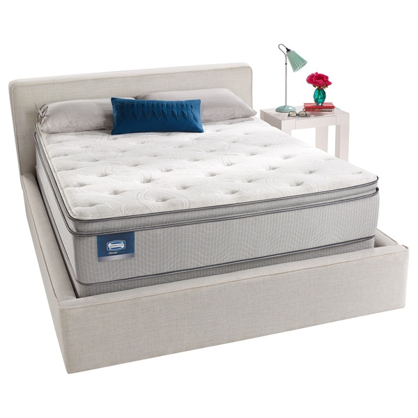 Free White Glove Delivery Simmons Beautysleep Us Pillow Top Queen Size Mattress Set