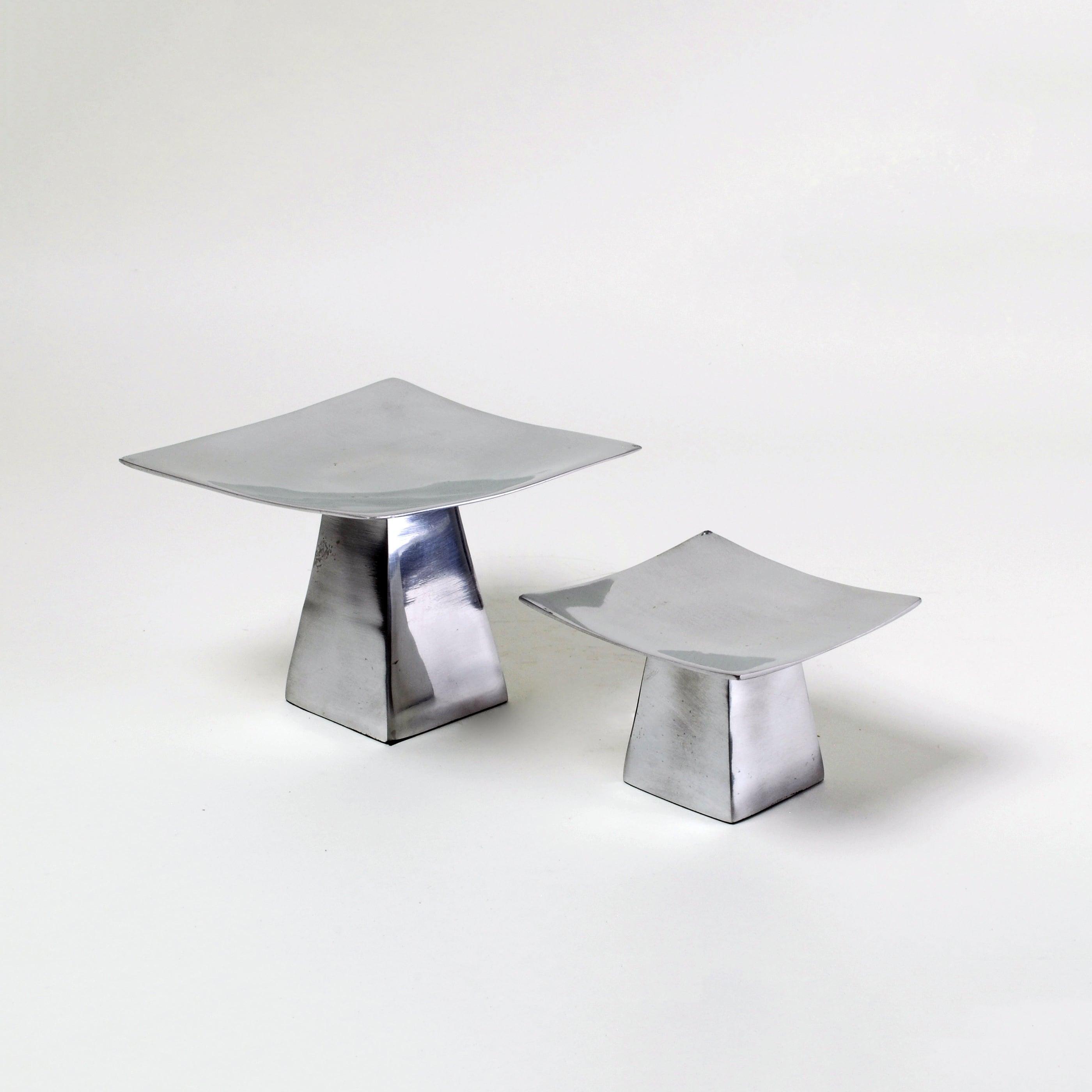 Pedestal Candle Holder Set Of 2