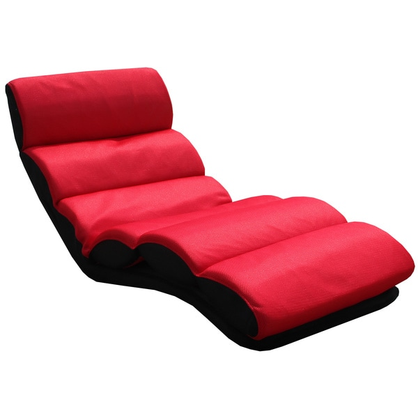 red folding lounge chair 15696220 overstock com shopping big