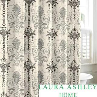 Laura Ashley Josette Cotton Shower Curtain
