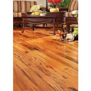 Buy Hardwood Flooring Online at Overstock com   Our Best Flooring Deals Exotic Brazilian Tigerwood 26 05 Square Feet Engineered Hardwood Flooring