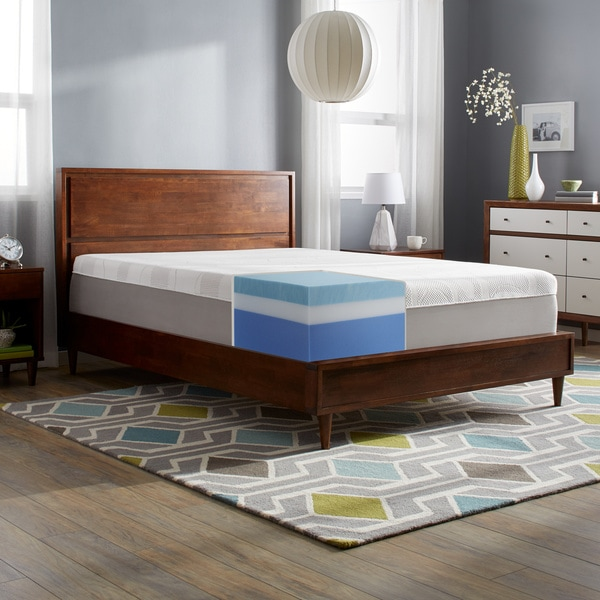 Slumber Solutions Choose Your Comfort 14 Inch Full Size Gel Memoryfoam Mattress