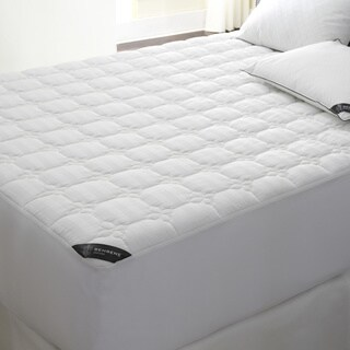 Behrens England Deep Pocket 500 Thread Count Cotton Waterproof Mattress Pad
