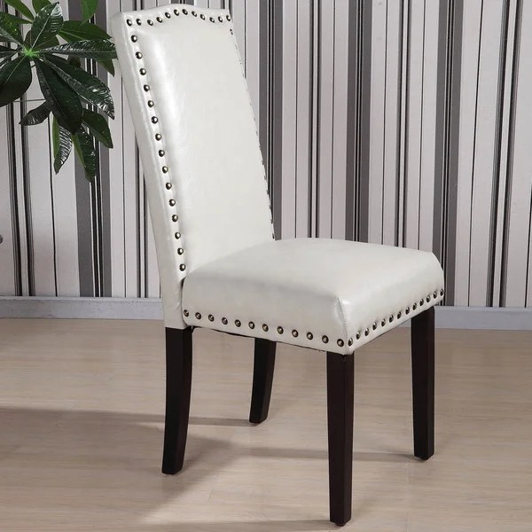 Royal Comfort Collection Classic Faux Leather Nailhead
