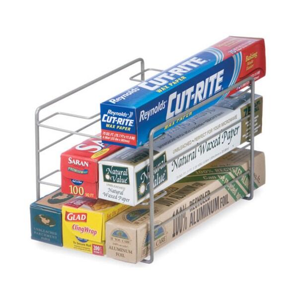 Organized Living Nickel Kitchen Wrap Organizer Overstock