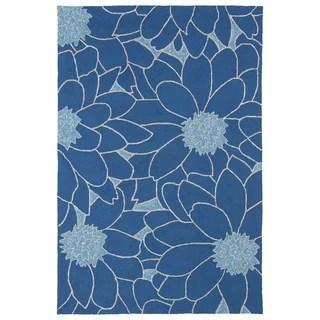 Skye Monet Cobalt Blue Rug 52 X 77 15275346