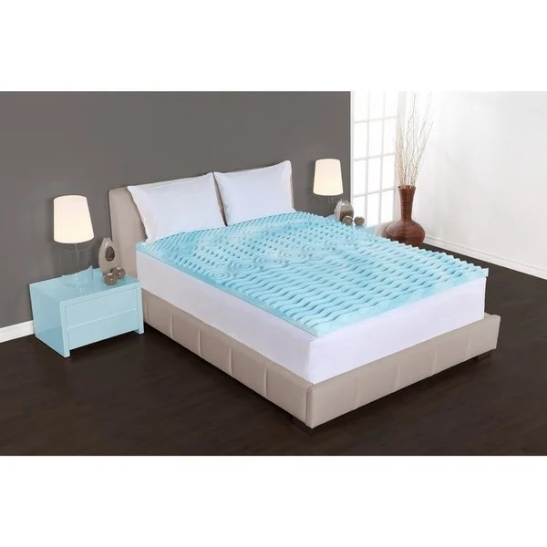 Authentic Comfort 2 Inch Rx 5 Zone Foam Mattress Topper Free Shipping On Orders Over 45 16057058