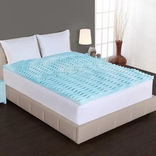 Authentic Comfort 2 Inch Rx 5 Zone Foam Mattress Topper