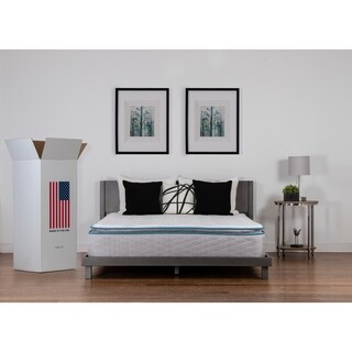 Nuform Quilted Pillow Top 11 Inch Full Xl Size Plush Foam Mattress