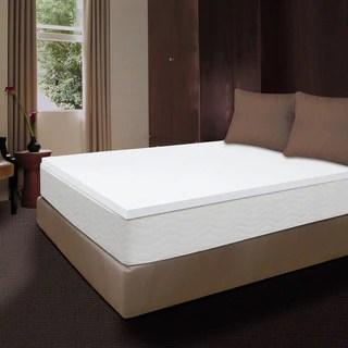 Comfort Memories Premium 1 5 Inch Memory Foam Mattress Topper