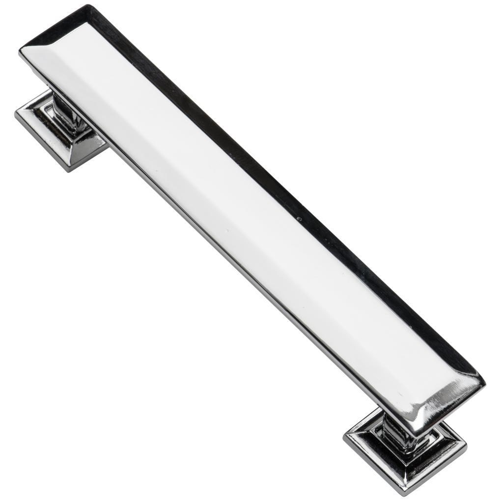 Shop Black Friday Deals On Southern Hills Polished Chrome Cabinet Pull Englewood Pack Of 10 Overstock 8976052