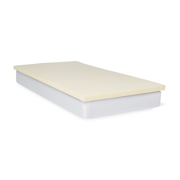 Select Luxury Flippable 2 Inch Bunk Bed Memory Foam Mattress Topper Free Shipping Today 16210264