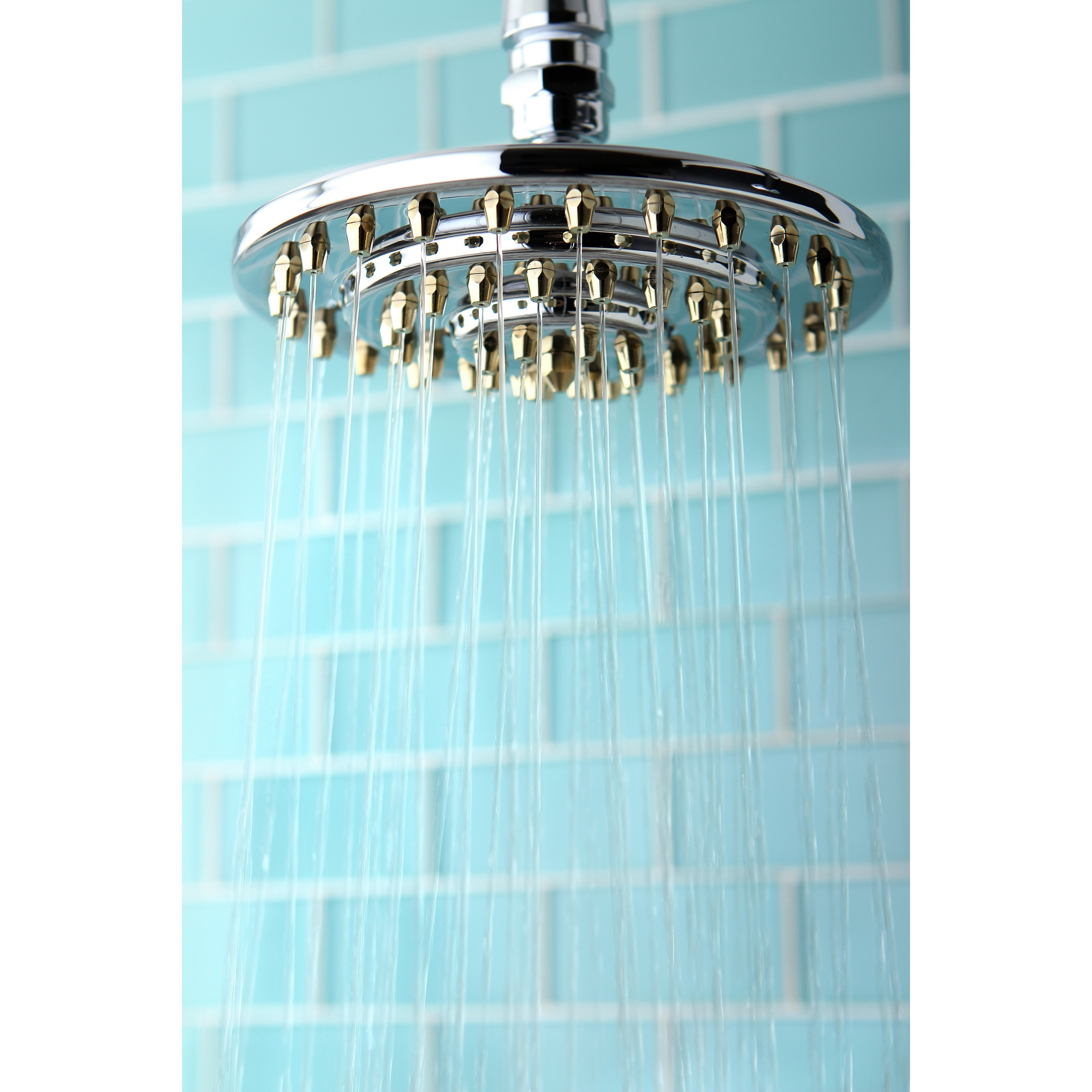 Details About Rainfall Chrome Polished Brass 6 Inch Shower Head Silver