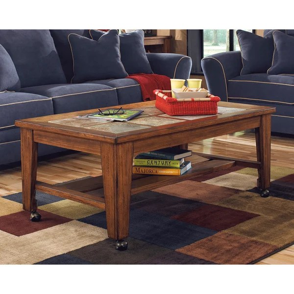 Image Result For Signature Design By Ashley Mestler Rectangular Brown Sofa Table