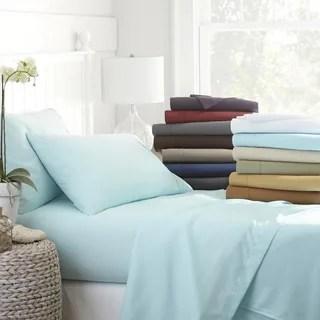 Becky Cameron Luxury Ultra Soft 4 Piece Bed Sheet Set Option California King