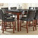 Greyson Living Bailey Granite Top Counter Height Dining Table Overstock 9396648