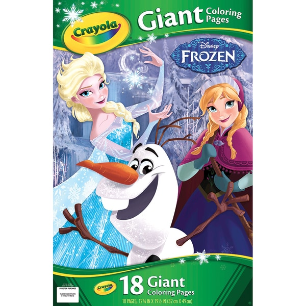 "crayola giant disney coloring book 12.""x7/16"" pg"