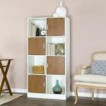 Baxton Studio White Walnut Chateau Bookcase