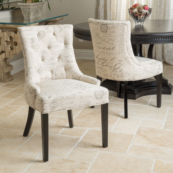 Tufted Dining Room Chairs Sale