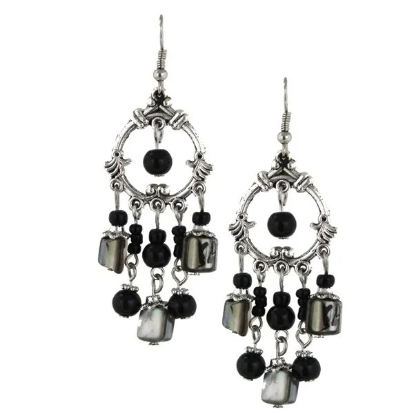 Handmade Bleek2sheek Mother Of Pearl Chandelier Earrings Usa Free Shipping On Orders Over 45 16785051
