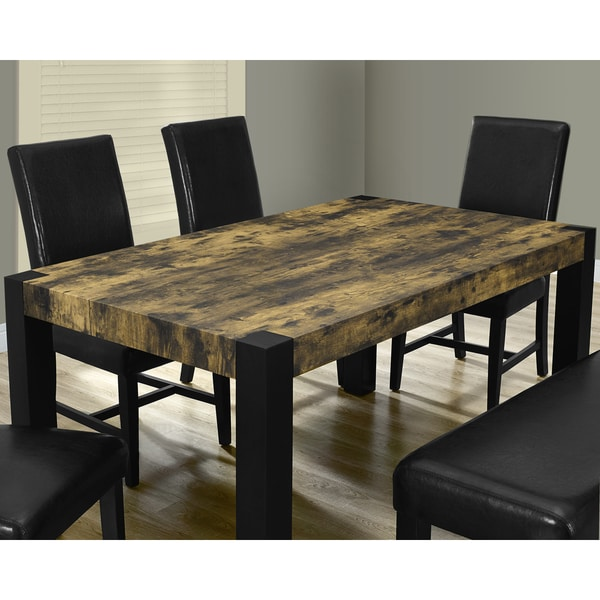 Black Distressed Dining Table Brokeasshome Com